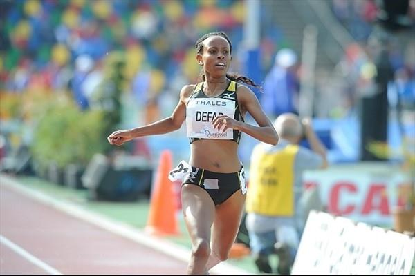 Comfortable 2010 outdoor debut for Meseret Defar in the Hengelo 5000m (organisers)