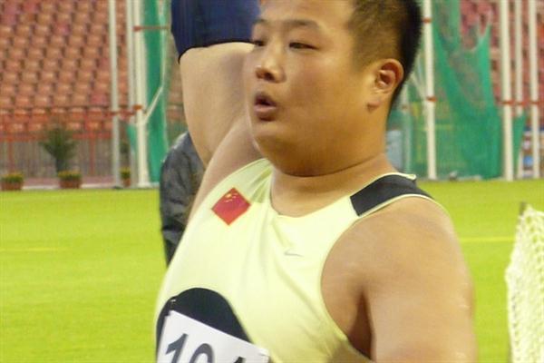 World University Games runner-up Zhang Jun (Hans van Kuijen)