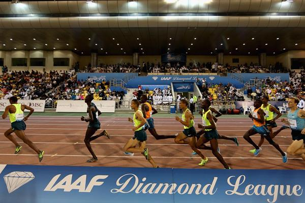 Athletes in action in the IAAF Diamond League (Getty Images)