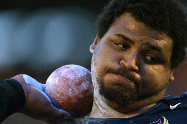 Reese Hoffa of the USA wins the men's shot put at the Pan American Games (Getty Images)