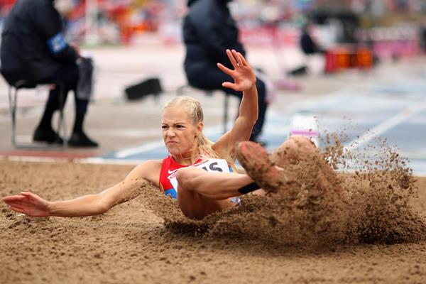 Russian long jumper Darya Klishina (Getty Images)