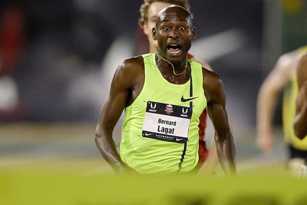 Bernard Lagat wins his seventh US 5000m title (Getty Images)
