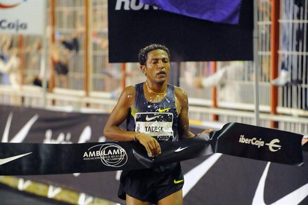 Zersenay Tadese takes the San Silvestre Vallecana in Madrid (Organisers)