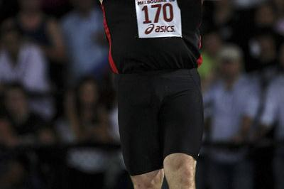 21.27 Oceania record by Scott Martin in Melbourne (Getty Images)