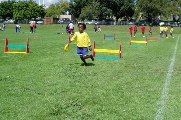 Kids' Athletics in action at new programme IAAF Level I Lecturers Course for Schools and Clubs, Pretoria (IAAF.org)