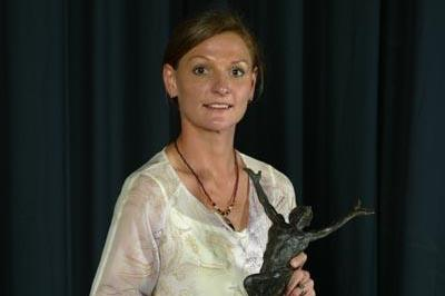 2003 World Athlete of the Year Hestrie Cloete (Getty Images)