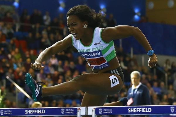 Tiffany Porter at the 2016 British indoor championships (Getty Images)