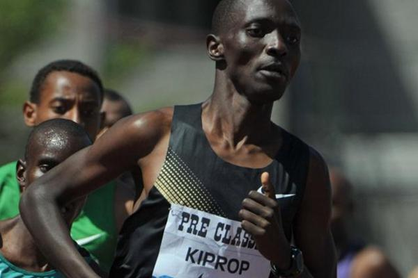 Second Eugene Mile victory for Asbel Kiprop (Kirby Lee)