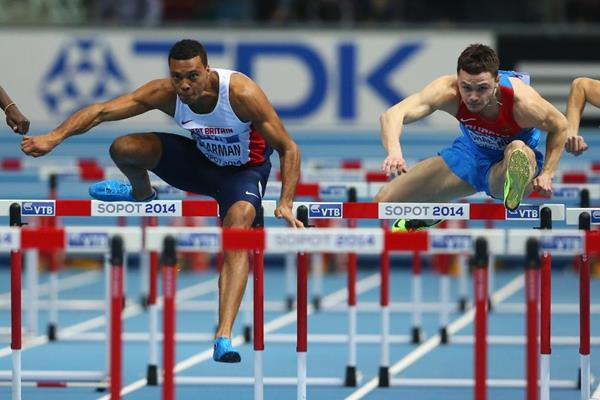 William Sharman at the IAAF World Indoor Championships Sopot 2014 (Getty Images)