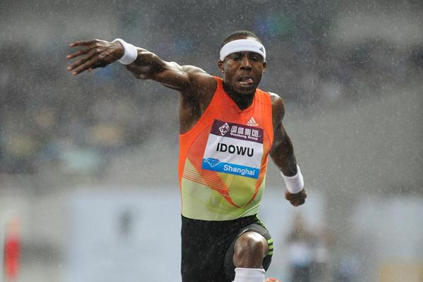 Solid win in tough conditions for Phillips Idowu in Shanghai (Errol Anderson)