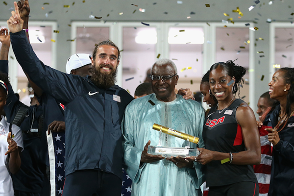 Chanelle Price Will Leer World Relays ()