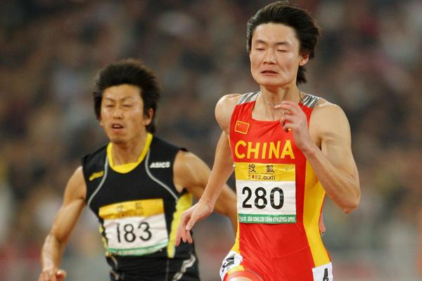 Chinese sprinter Zhang Peimeng (Getty Images)