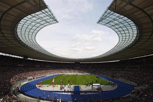 The Berlin Olympic Stadium during the Golden League (Getty Images)