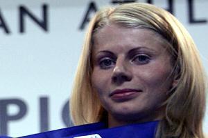 Olesya Chumakova with Birmingham bronze (Getty Images)
