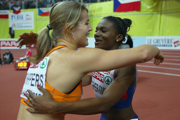 Dafne Schippers and Dina Asher-Smith ()