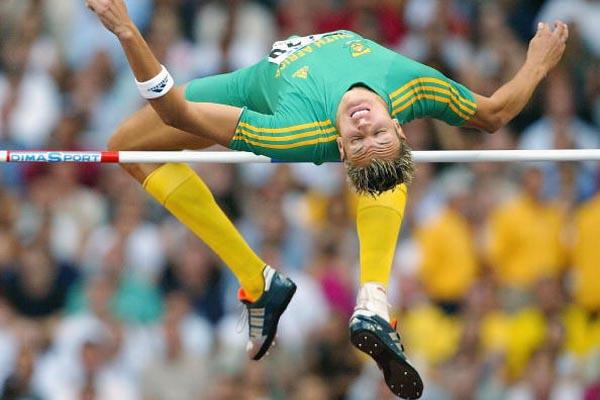 Jacques Freitag wins the men's High jump world title (Getty Images)