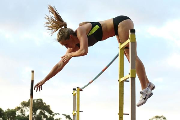 Alana Boyd, Australia's national Pole Vault champion (Getty Images)
