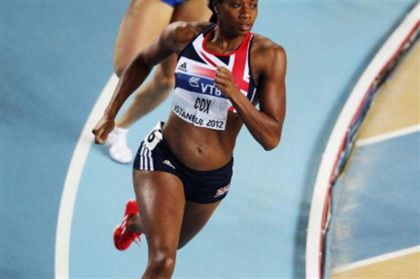 Shana Cox of Great Britain competes in the Women's 400 Metres first round - Day One WIC Istanbul (Getty Images)