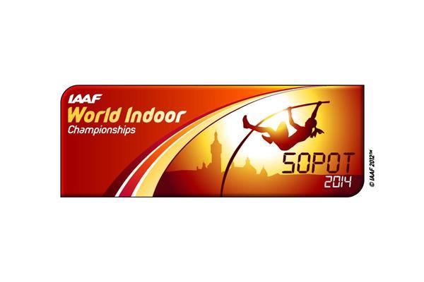 IAAF World Indoor Championships 2014 Sopot logo (IAAF)