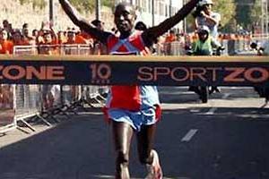 Jonathan Kipkorir wins Half Marathon in Portugal (2007) (António Manuel Fernandes)