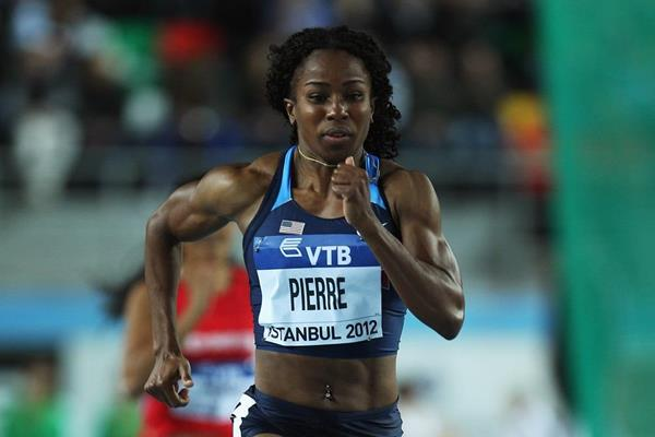 Barbara Pierre at the 2012 IAAF World Indoor Championships (Getty Images)