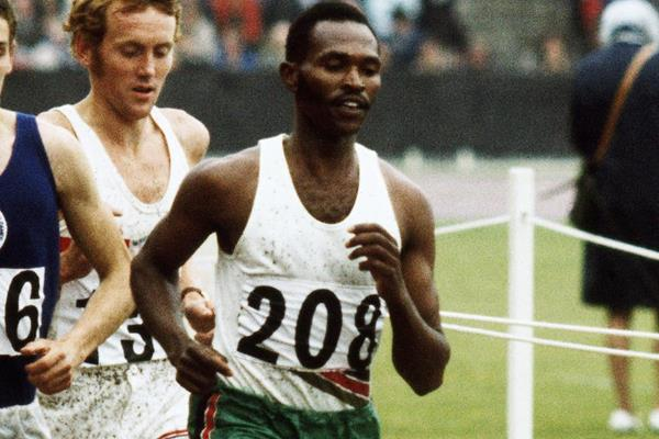 Kenya's Kip Keino on his way to victory in the 1500m (Getty Images)