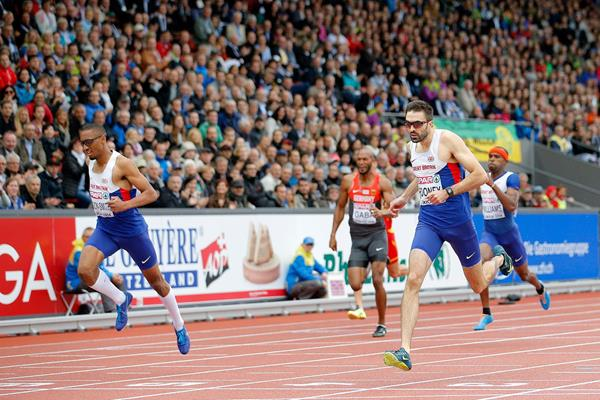 Martyn Rooney wins the 400m at the European Championships (Getty Images)