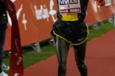 Vivian Cheruiyot brings in 2008 with a narrow victory in Madrid (Negami)