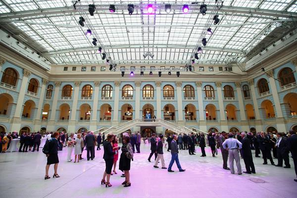 Moscow's Gostiny Dvor, setting for the IAAF Congress Opening Dinner (Getty Images)