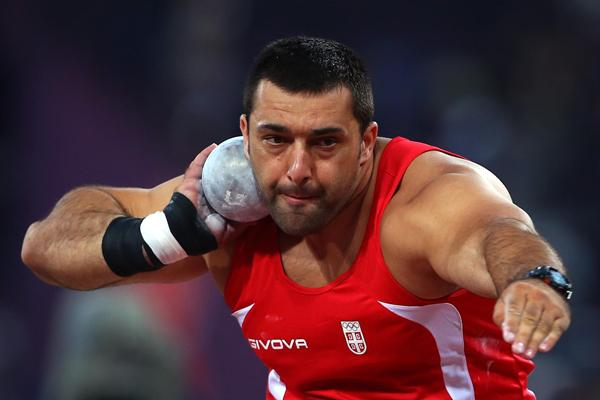 Serbian shot putter Asmir Kolasinac (Getty Images)