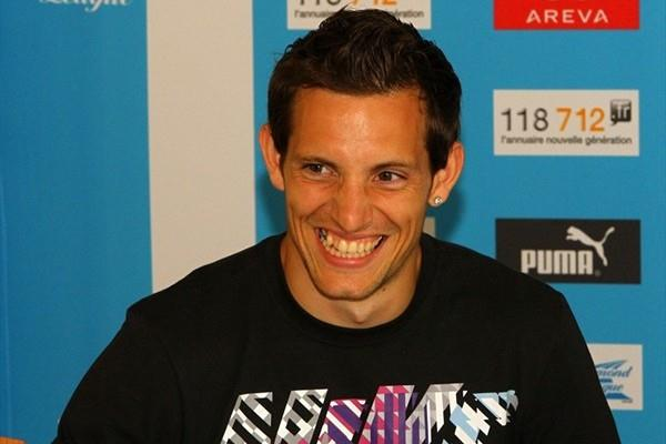 Renaud Lavillenie on the eve of the Paris Diamond League meeting (Errol Anderson)