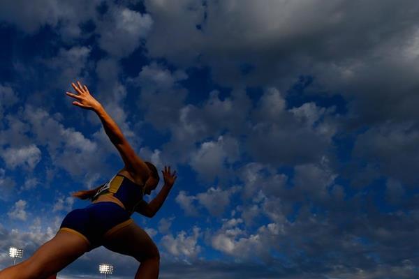 Swedish heptathlete Elise Malmberg at the 2014 IAAF World Junior Championships in Eugene (Getty Images)