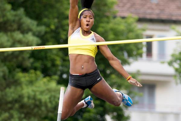 Yarisley Silva clears 4.81m to win in Lucerne (Organisers)