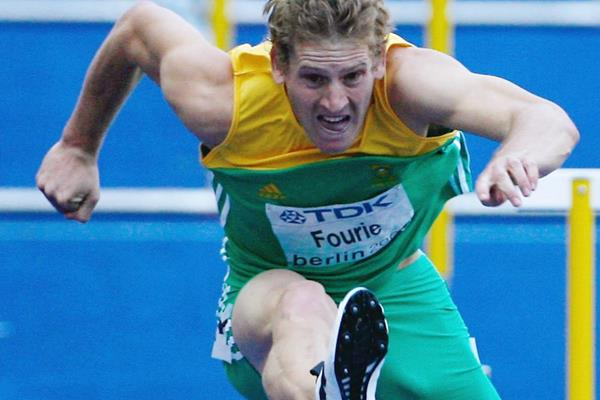 South African sprint hurdler Lehann Fourie (Getty Images)