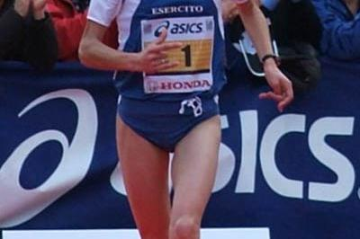 Vincenza Sicari defending her title in Florence (Lorenzo Sampaolo)