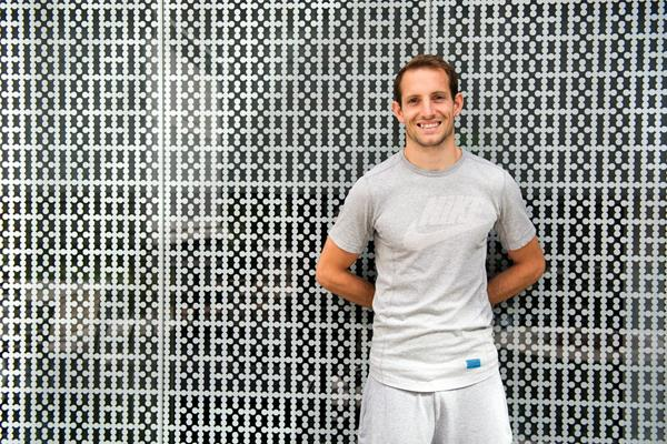 Renaud Lavillenie ahead of the IAAF Diamond League Meeting in Stockholm (Deca Text & Bild)