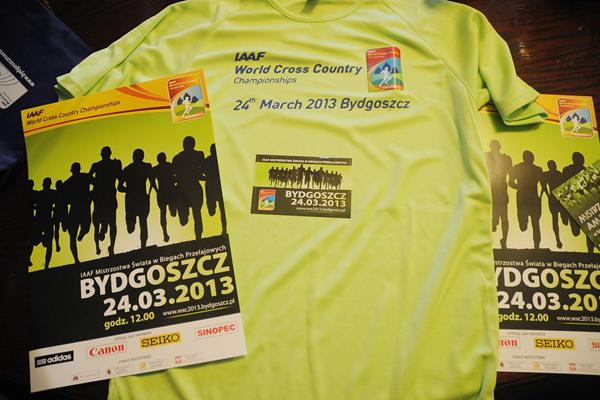 2013 World Cross posters and t-shirts (Robert Sawicki)