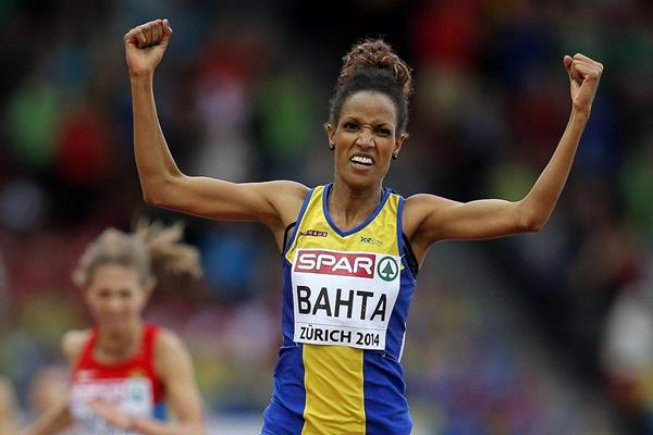 Meraf Bahta winning the 5000m at the 2014 European Athletics Championships (Getty Images)