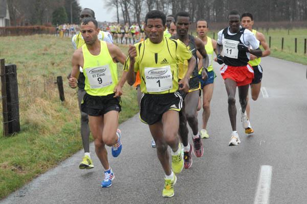Haile Gebrselassie in the 's Heerenberg 15Km ('s Heerenberg 15Km organisers)
