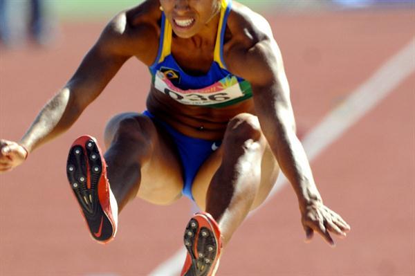 Lucimara da Silva at the 2011 Pan Am Games (Eduardo Biscayart)