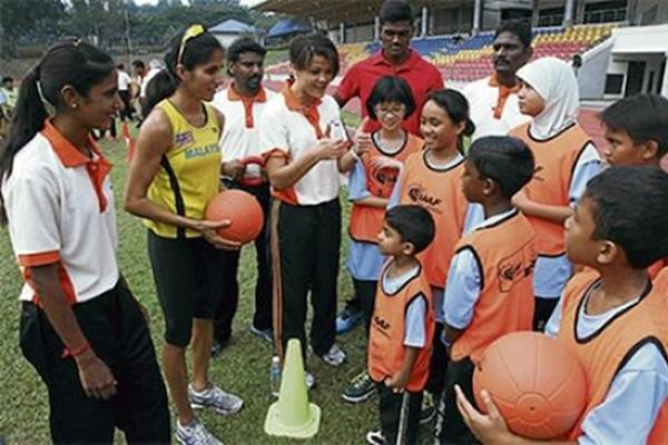 IAAF / Nestlé Kids' Athletics is activated in Malaysia (MAF)