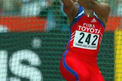 Yipsi Moreno of Cuba qualifies for the Hammer final (Getty Images)