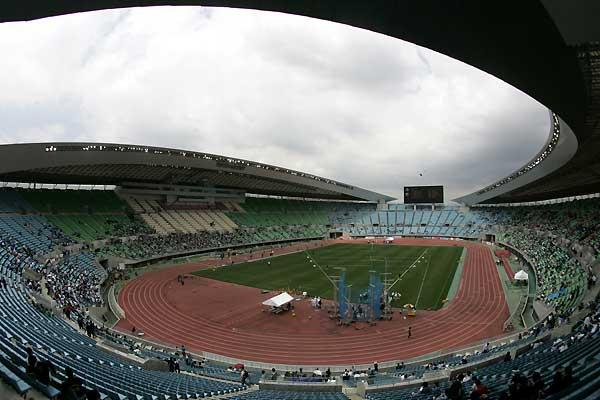 The 11th IAAF World Championships will be held in Nagai Stadium in Osaka Japan from 25 August to 2 September 2007. As part of the new agreement, Seiko will provide a state-of-the-art timing and measurement service ((c) PHOTO KISHIMOTO)