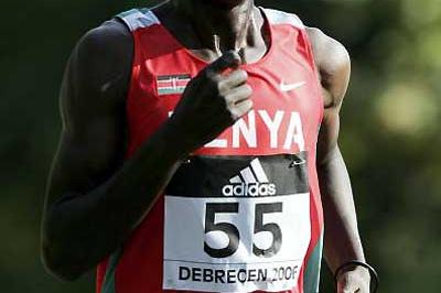 Robert Kipchumba (KEN) - silver in Debrecen (Getty Images)