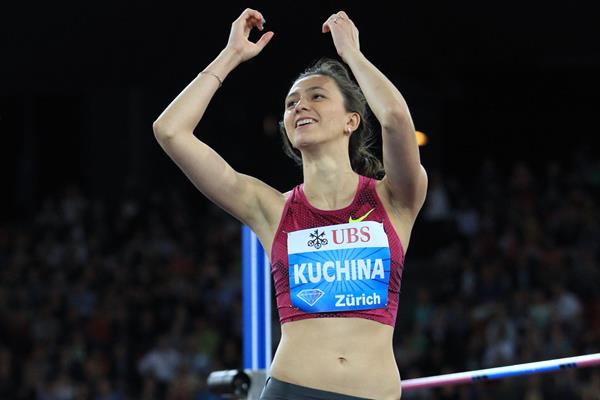Maria Kuchina, 2.00m in Zurich (Jean-Pierre Durand)