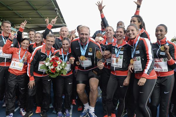 The victorious German team at the European Team Championships (Getty Images)