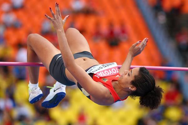 German high jumper Marie-Laurence Jungfleisch (Getty Images)