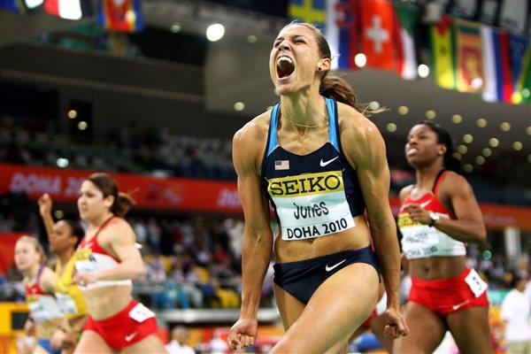 Lolo Jones takes World indoor 60m Hurdles gold in Doha (Getty Images)