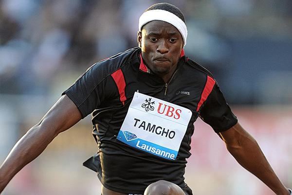Teddy Tamgho leaps to a meeting record of 17.91m in Lausanne (Giancarlo Colombo)