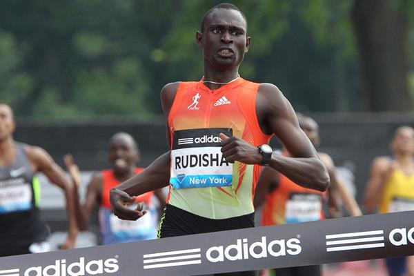 David Rudisha - sensational 1:41.74 in New York (Victah Sailer)